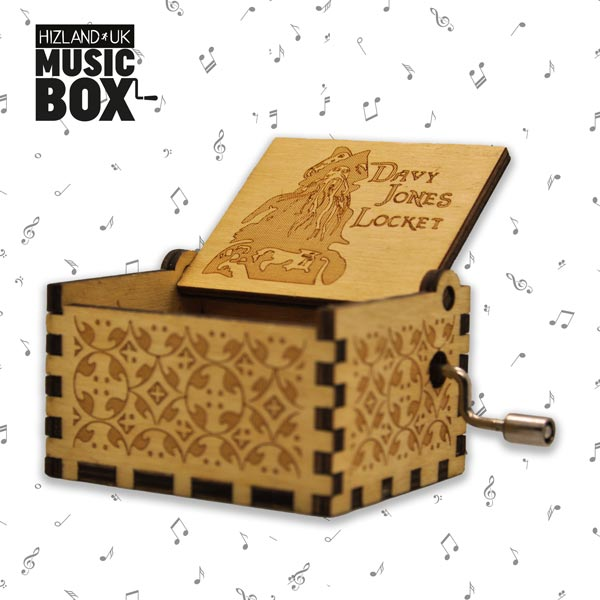 Davy Jones Music Box | Pirates of the Caribbean Collectibles