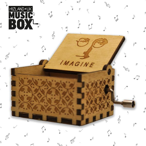 Imagine Music Box | Hand Crank Music box