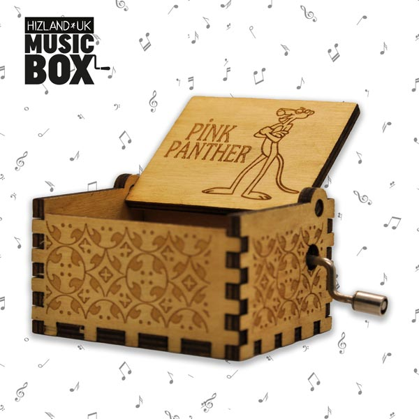 Pink Panther Theme | Vintage Music Box