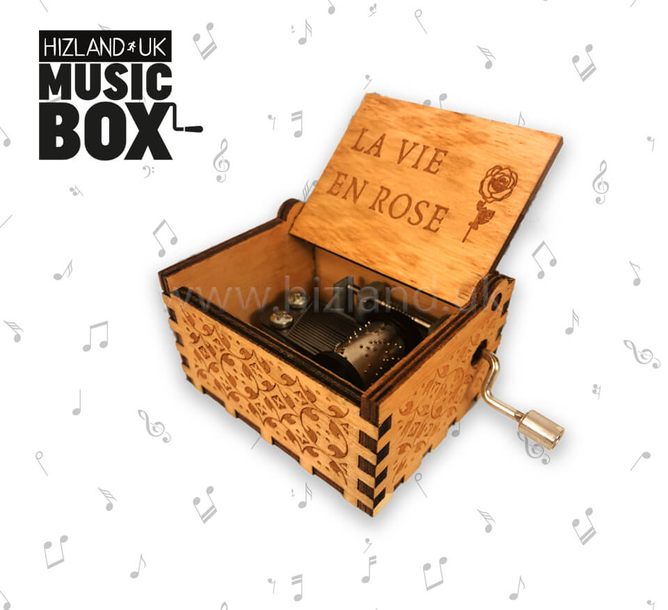 La Vie En Rose Music Box - Theme Song