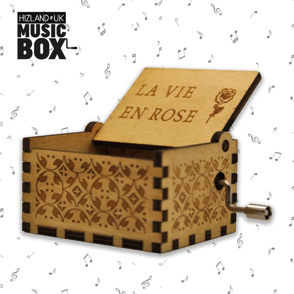 La Vie En Rose Music Box | Romantic Gifts For Her