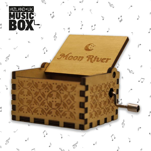 Audrey Hepburn Gifts | Moon River Music Box