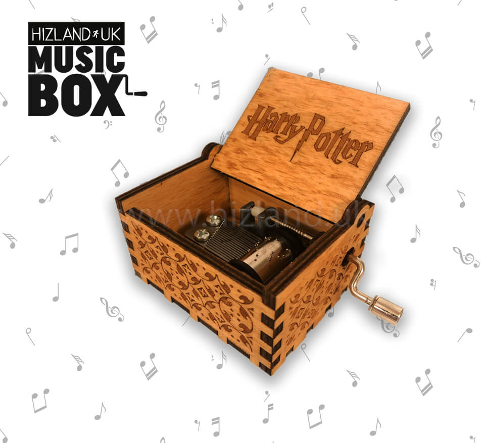 Harry Potter Music Box Gift for Kids, Friends