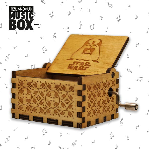 Wooden Star Wars Music Box | Star Wars Toys