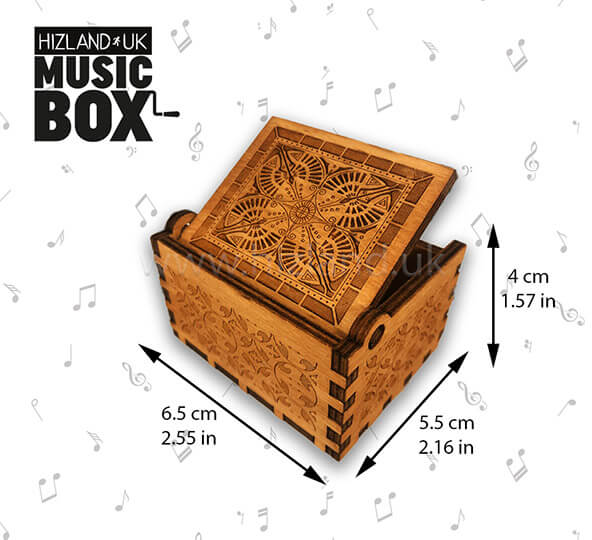 Cant Help Falling in Love Wooden Music Box | Buy Now