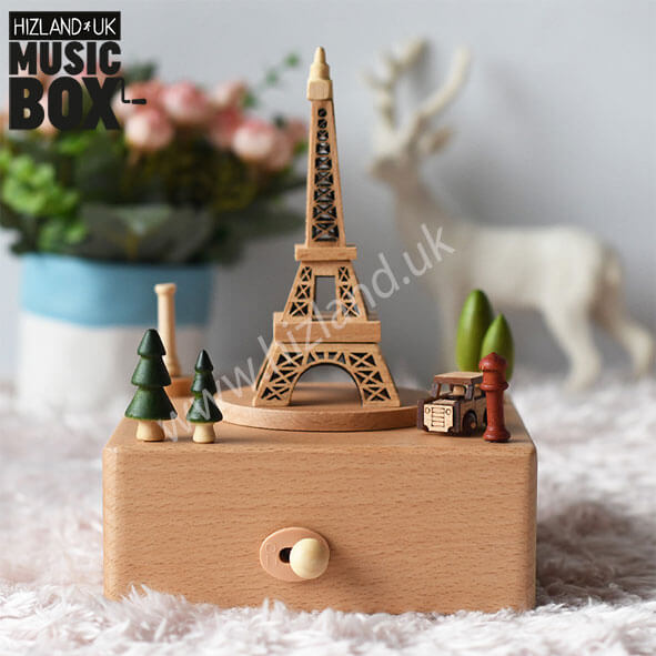 Eiffel Tower Music Box | Carousel Toys | Musical Toys