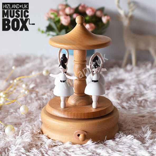 Ballerina Music Box | Carousel Musical Box | Spot On Gifts